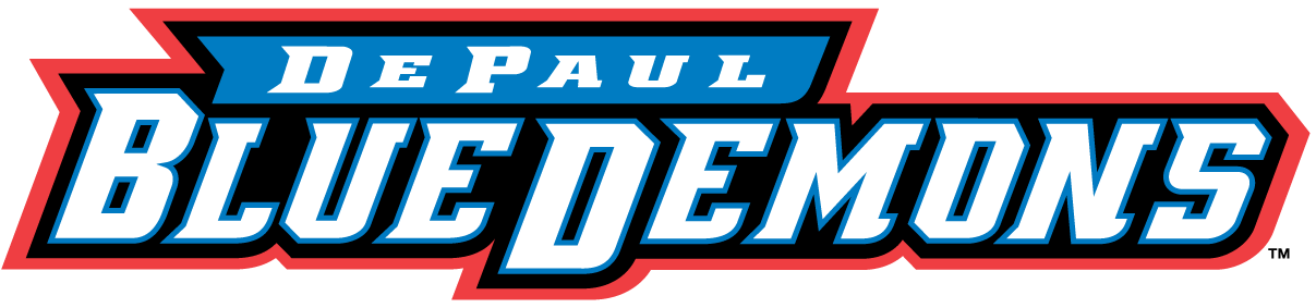 DePaul Blue Demons 1999-Pres Wordmark Logo iron on transfers for clothing