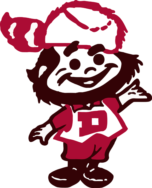 Denver Pioneers 1968-1998 Primary Logo iron on transfers for clothing
