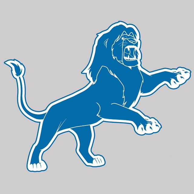 Detroit Lion Kings logo iron on transfers