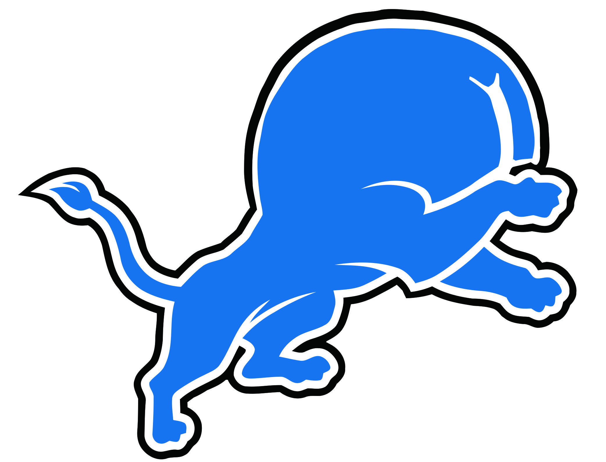 Detroit Lions Butts Logo iron on transfers