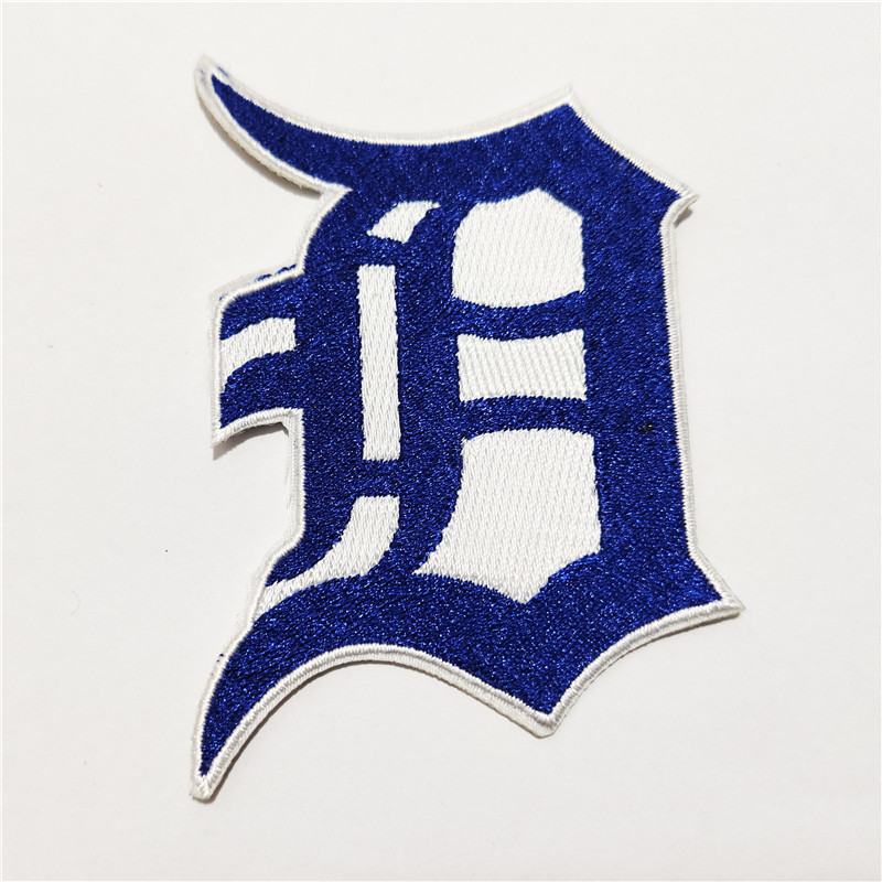 Detroit Tigers Logo Iron-on Patch Velcro Patch 3.5 inches