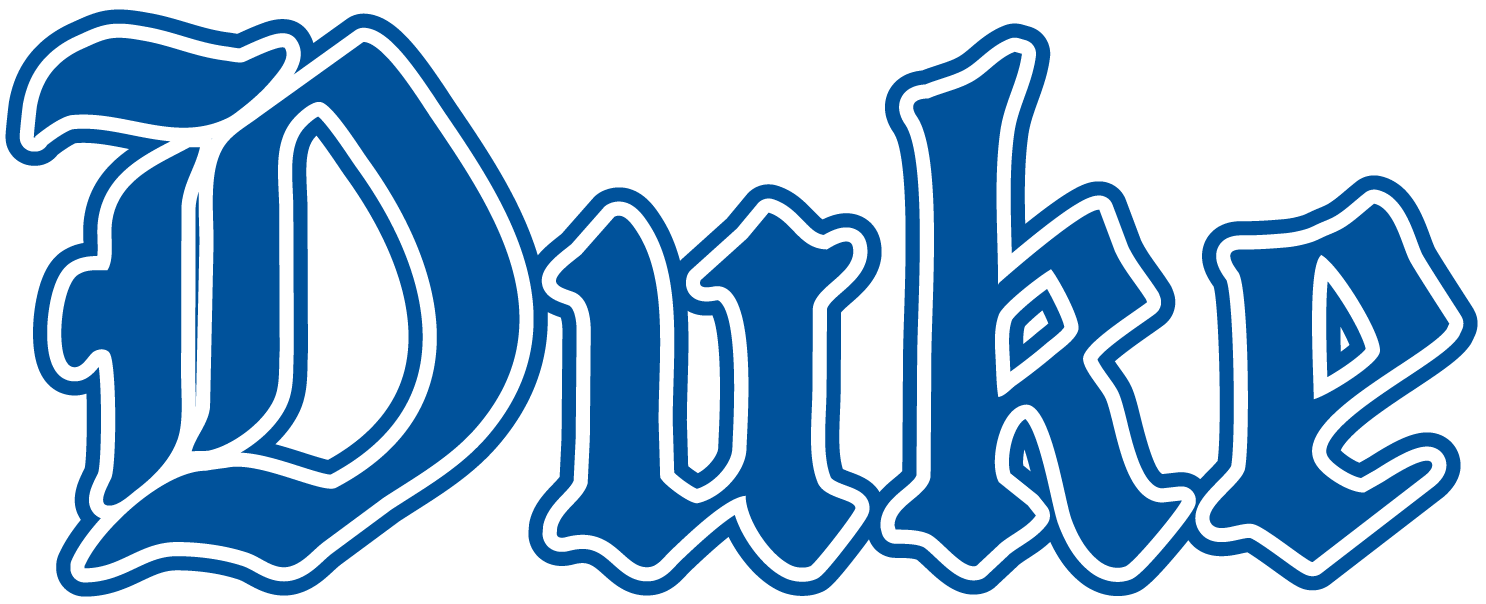 Duke Blue Devils 1978-Pres Wordmark Logo v4 iron on transfers for clothing