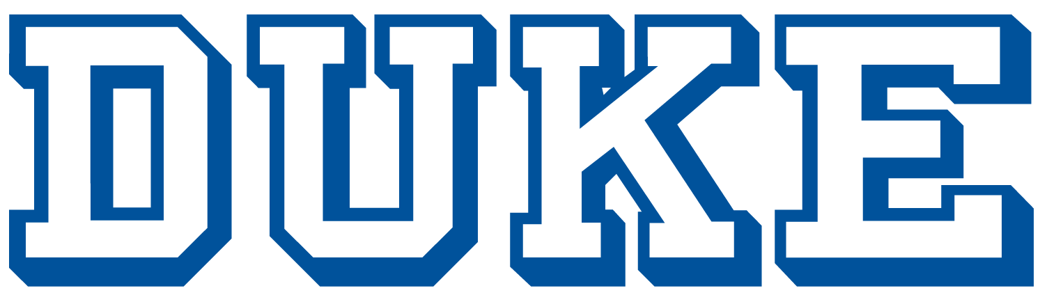 Duke Blue Devils 1978-Pres Wordmark Logo iron on transfers for clothing