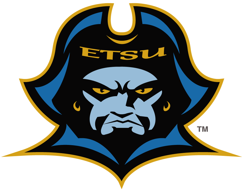 ETSU Buccaneers 2007-2013 Primary Logo iron on transfers for clothing