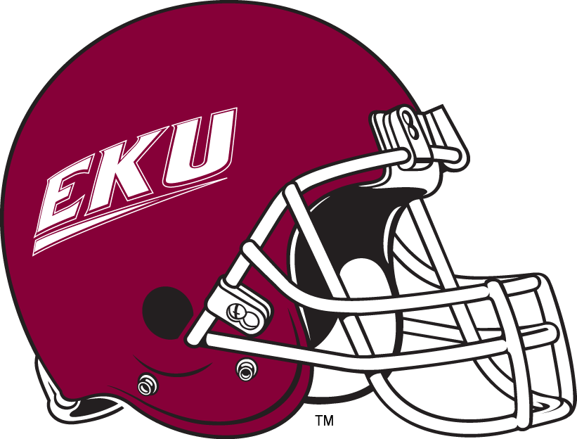 Eastern Kentucky Colonels 2004-Pres Helmet Logo iron on transfers for clothing