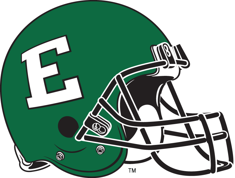 Eastern Michigan Eagles 2002-Pres Helmet Logo iron on transfers for clothing