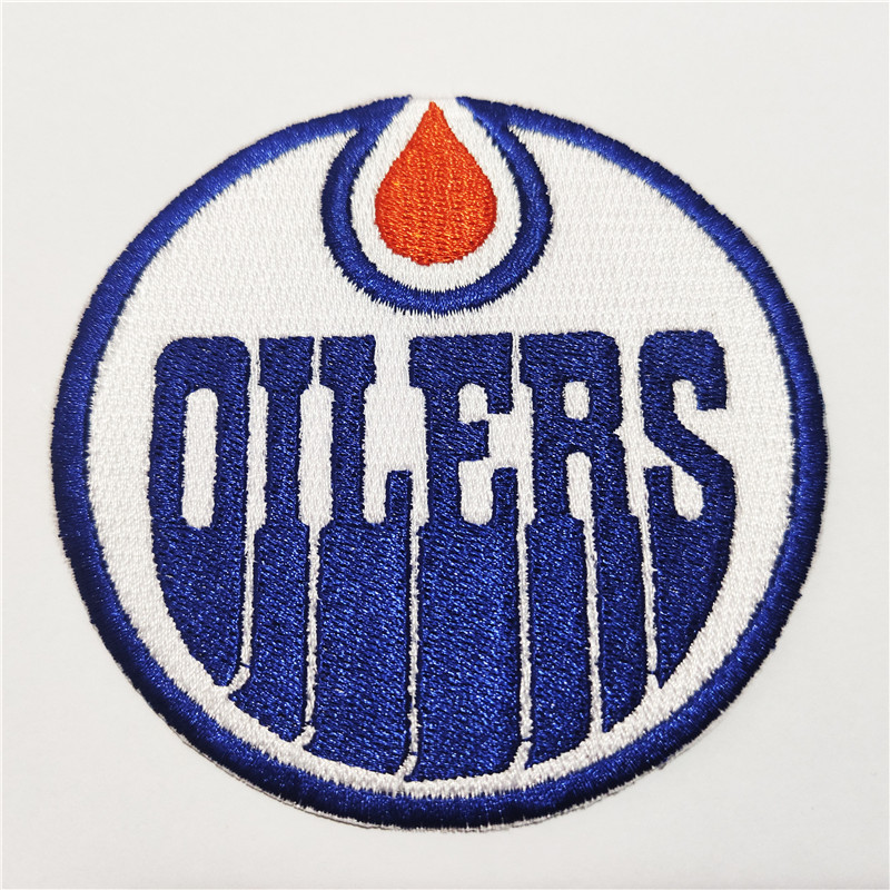 Edmonton Oilers Logo Iron-on Patch Velcro Patch 3.5 inches...