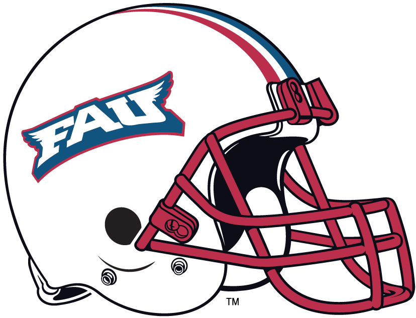 Florida Atlantic Owls 2005-Pres Helmet Logo iron on transfers for clothing