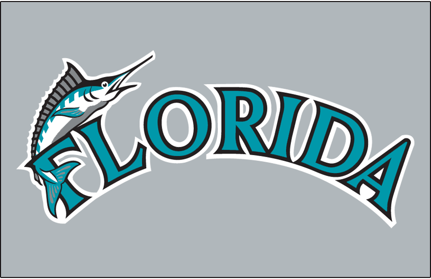 Florida Marlins 1993-2002 Jersey Logo iron on transfers for clothing