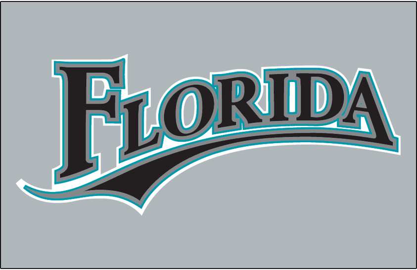 Florida Marlins 2003-2009 Jersey Logo iron on transfers for clothing