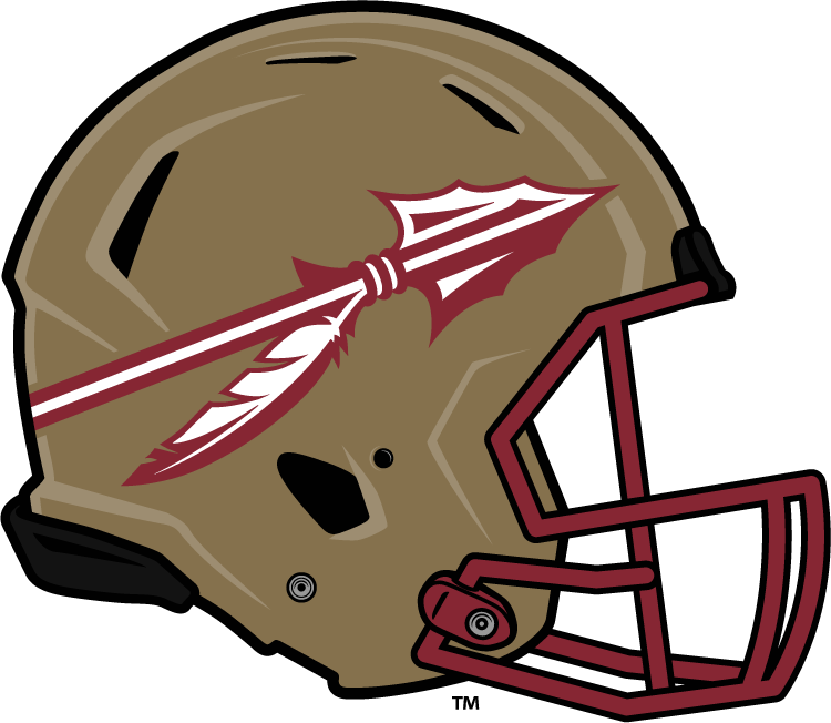Florida State Seminoles 2014-Pres Helmet Logo iron on transfers for clothing