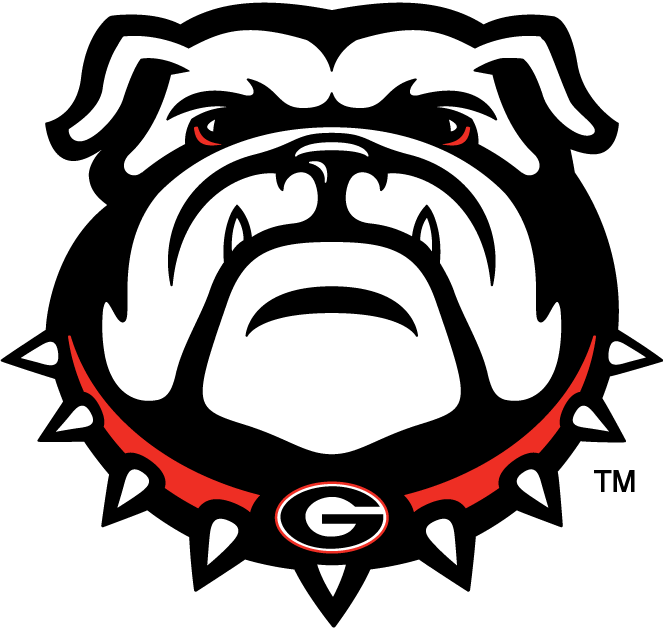 Georgia Bulldogs 2013-Pres Secondary Logo iron on transfers for clothing...