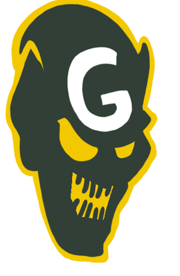 Green Bay Packers Halloween Logo iron on transfers