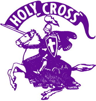Holy Cross Crusaders 1966-1998 Primary Logo iron on transfers for clothing