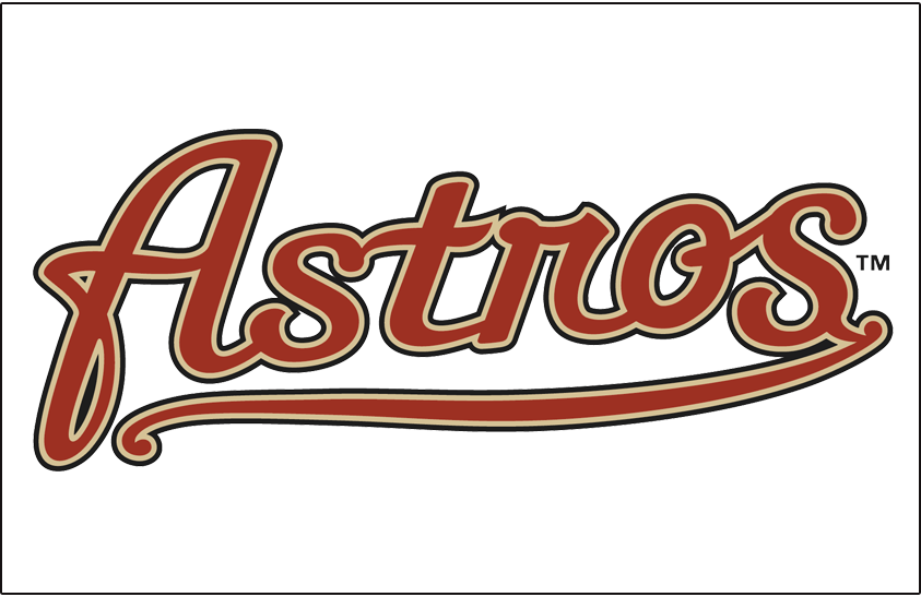 Houston Astros 2002-2012 Jersey Logo iron on transfers for clothing version 3...