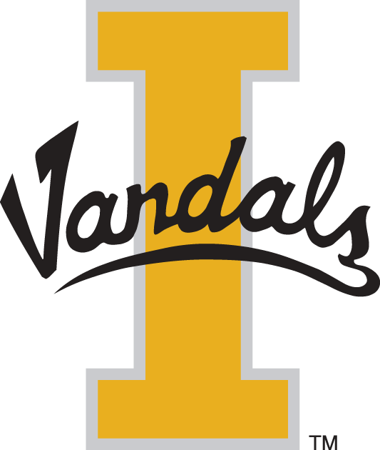 Idaho Vandals 1992-2003 Alternate Logo iron on transfers for clothing
