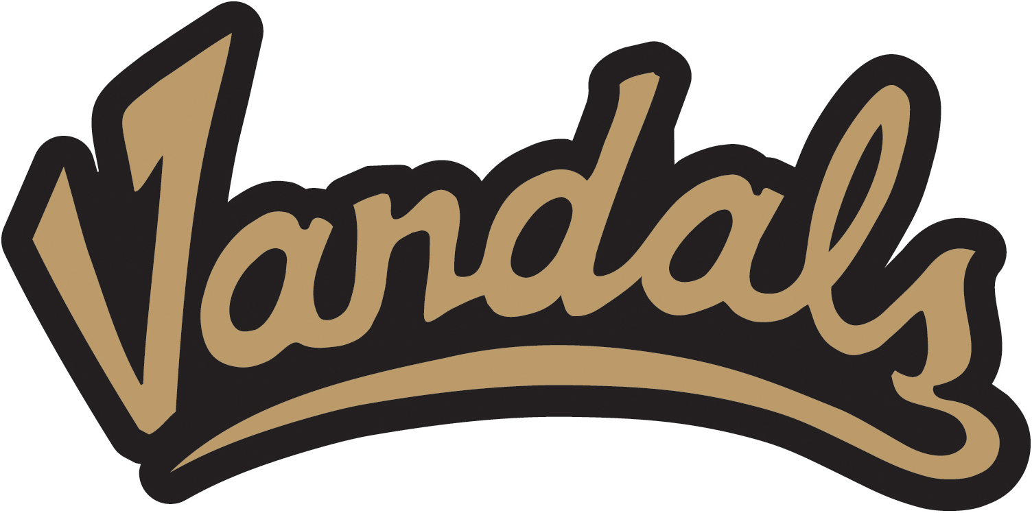 Idaho Vandals 2004-Pres Wordmark Logo v2 iron on transfers for clothing