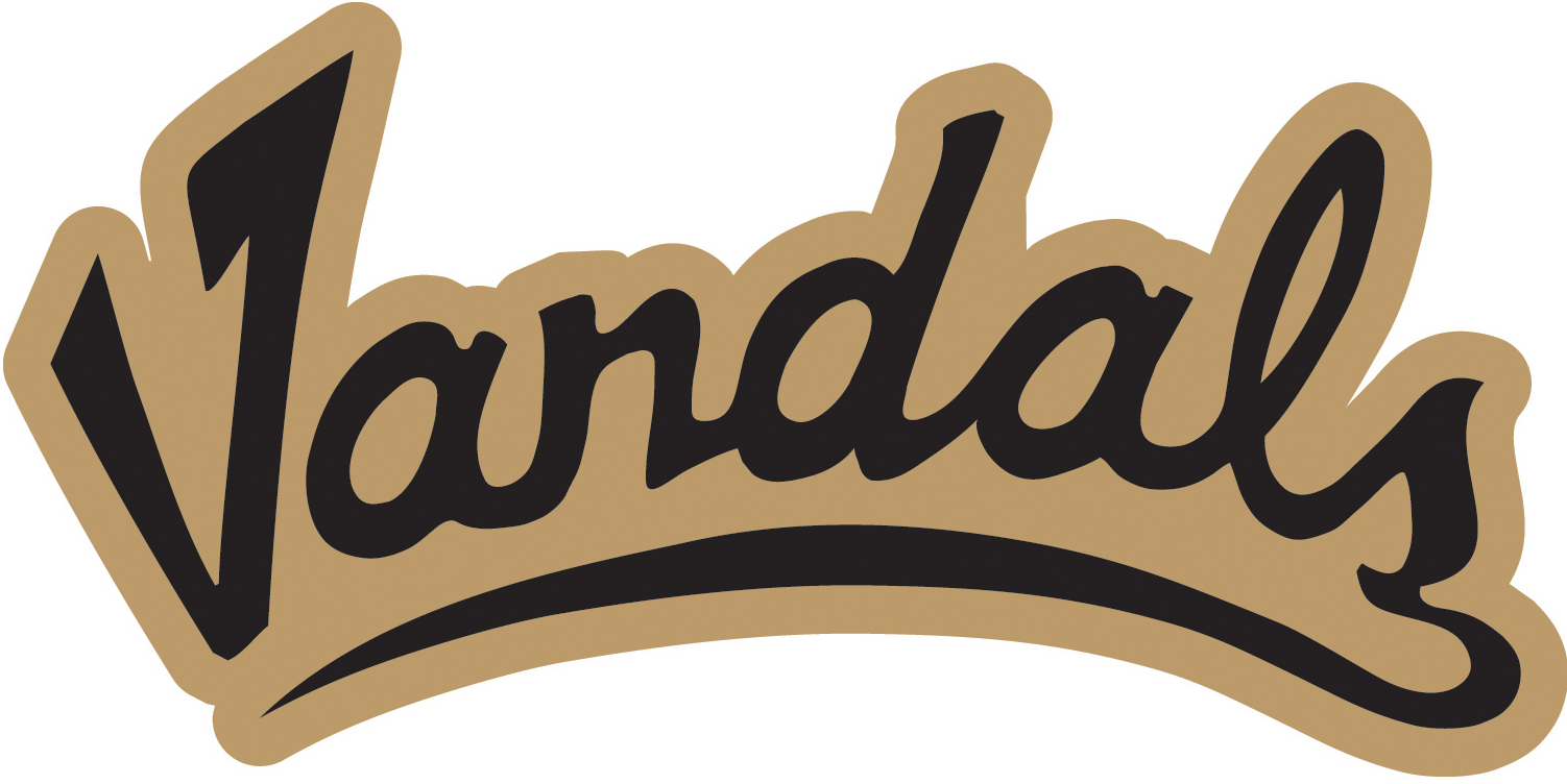 Idaho Vandals 2012-Pres Wordmark Logo v2 iron on transfers for clothing