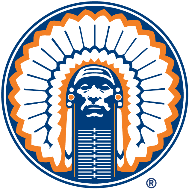 Illinois Fighting Illini 1989-2003 Primary Logo iron on transfers for clothing