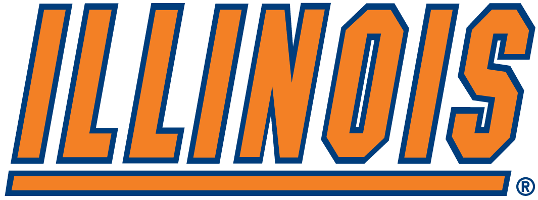 Illinois Fighting Illini 1989-2013 Wordmark Logo iron on transfers for clothing