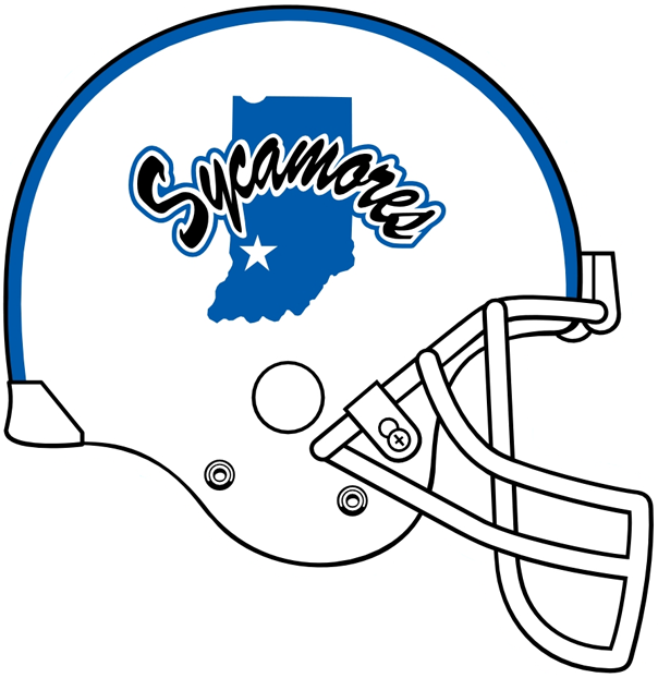 Indiana State Sycamores 1991-Pres Helmet Logo v2 iron on transfers for clothing