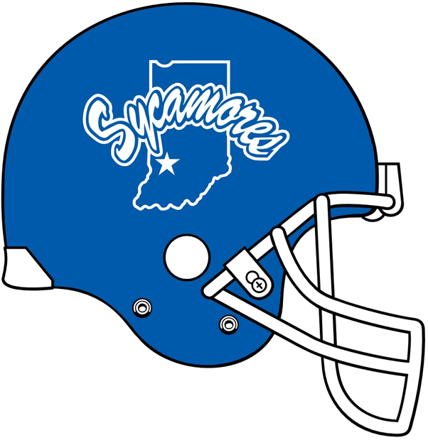 Indiana State Sycamores 1991-Pres Helmet Logo iron on transfers for clothing