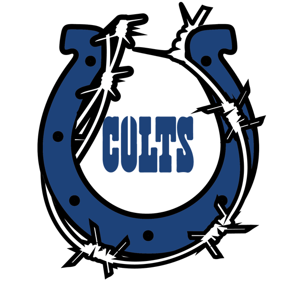 Indianapolis Colts Heavy Metal Logo iron on transfers