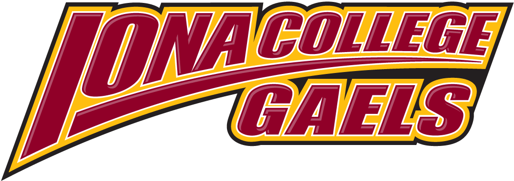 Iona Gaels 2003-2012 Wordmark Logo iron on transfers for clothing