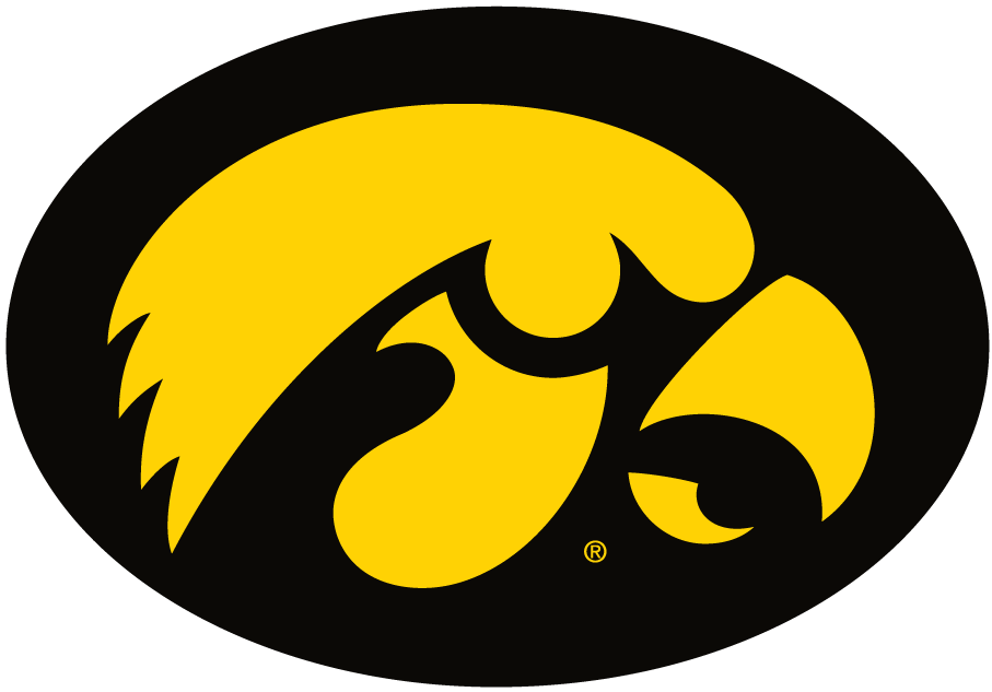 Iowa Hawkeyes iron ons