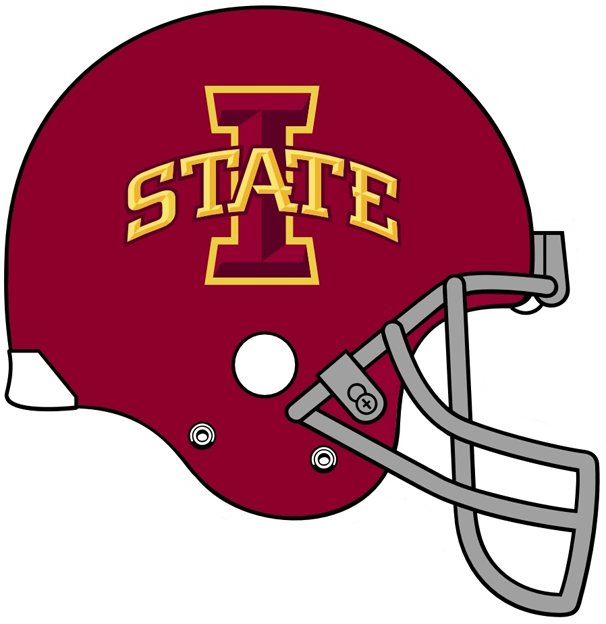 Iowa State Cyclones 2008-Pres Helmet Logo iron on transfers for clothing