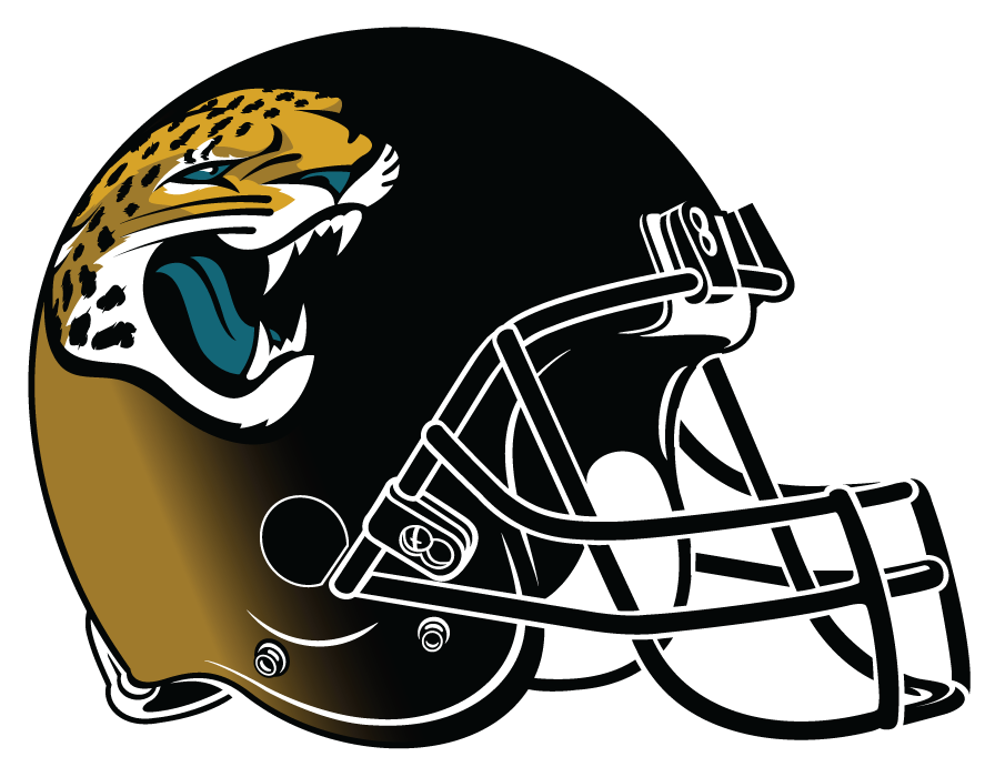 Jacksonville Jaguars 2013-2017 Helmet Logo iron on transfers for clothing