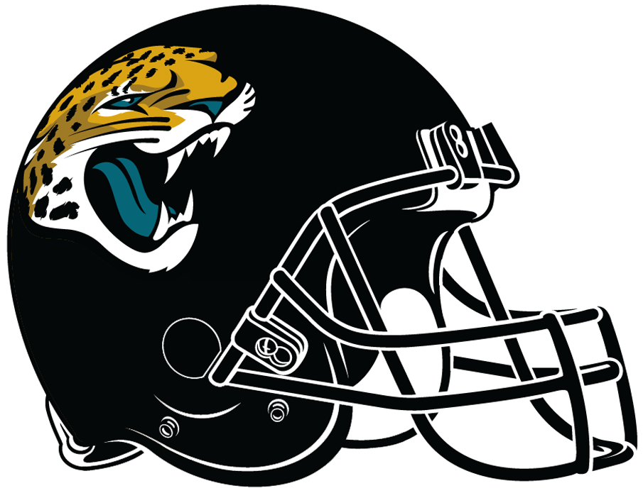Jacksonville Jaguars 2018-Pres Helmet Logo iron on transfers for clothing