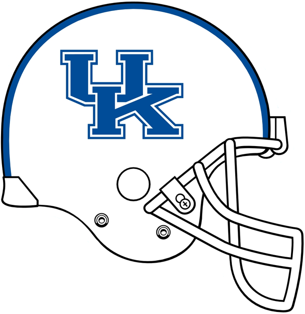 Kentucky Wildcats 2005-2015 Helmet Logo fabric transfers