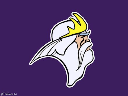 King Triton Minnesota Vikings Logo iron on transfers