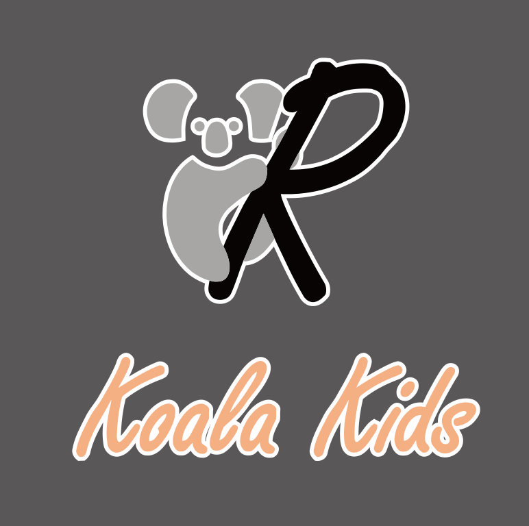 10 inches Koala Kids iron on transfers
