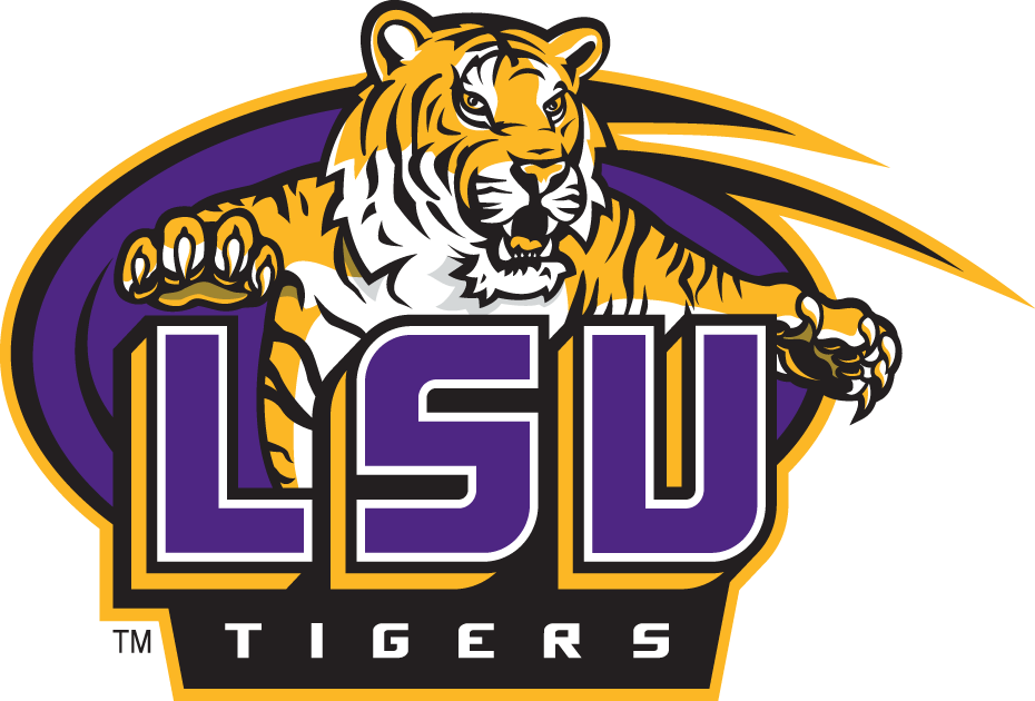 LSU Tigers 2002-2006 Primary Logo iron on transfers for clothing