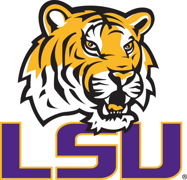 LSU Tigers 2002-2006 Secondary Logo iron on transfers for clothing