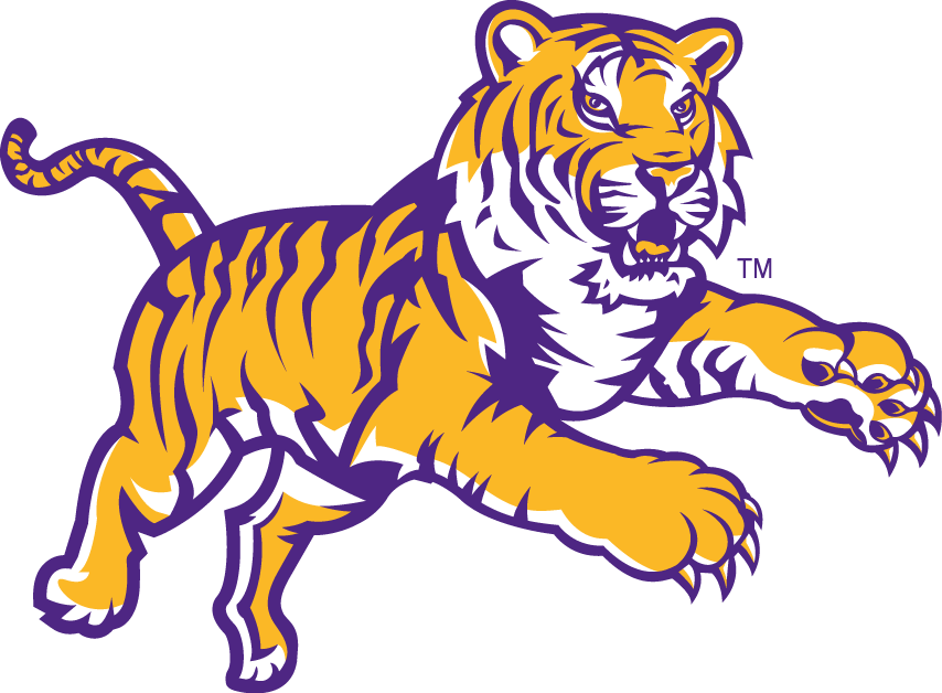 LSU Tigers 2002-Pres Alternate Logo v3 iron on transfers for clothing