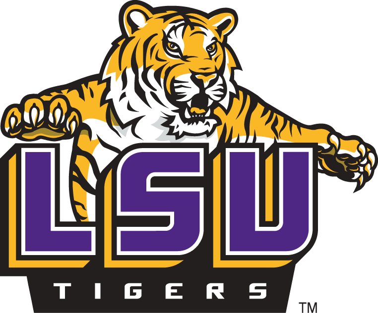 LSU Tigers 2002-Pres Alternate Logo v5 iron on transfers for clothing