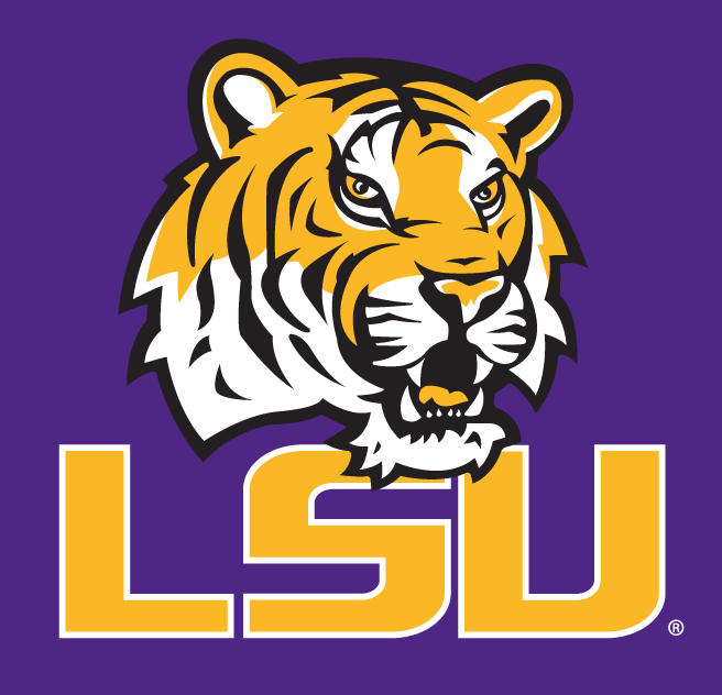 LSU Tigers 2002-Pres Alternate Logo v6 iron on transfers for clothing