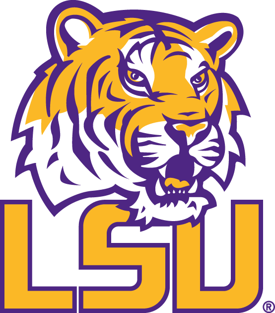 LSU Tigers 2002-Pres Alternate Logo v7 iron on transfers for clothing