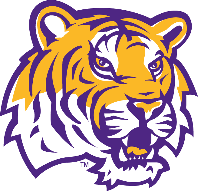 LSU Tigers 2002-Pres Alternate Logo iron on transfers for clothing