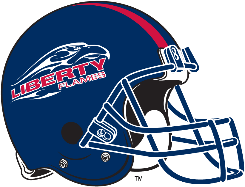 Liberty Flames 2004-2012 Helmet Logo iron on transfers for clothing
