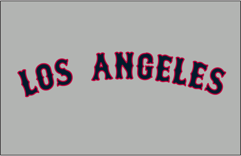 Los Angeles Angels 1961-1964 Jersey Logo iron on transfers for clothing