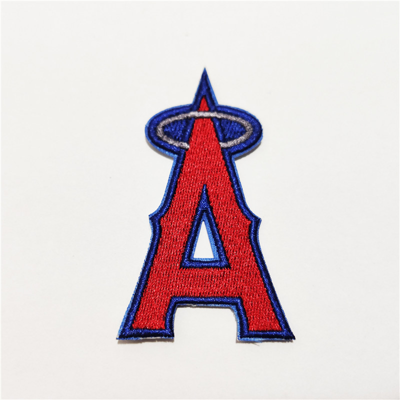 Los Angeles Angels Logo Iron-on Patch Velcro Patch 3 inches