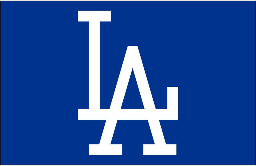 Los Angeles Dodgers 1958-1971 Cap Logo iron on transfers for clothing