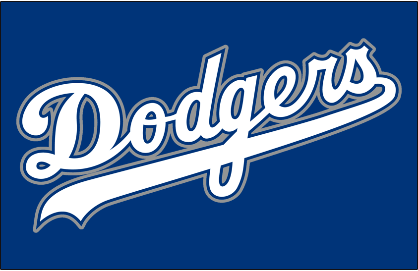 Los Angeles Dodgers 1999 Jersey Logo iron on transfers for clothing