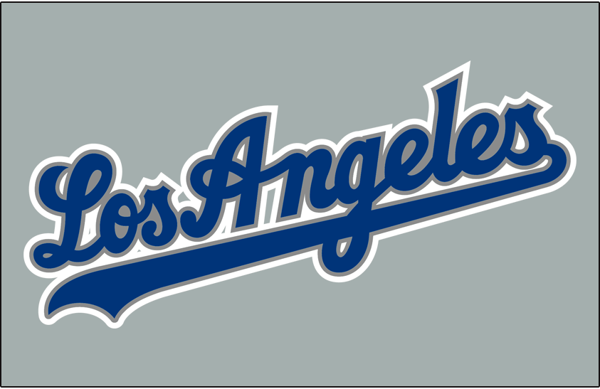 Los Angeles Dodgers 2002-2006 Jersey Logo iron on transfers for clothing