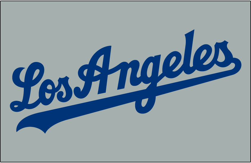Los Angeles Dodgers 2007-Pres Jersey Logo iron on transfers for clothing