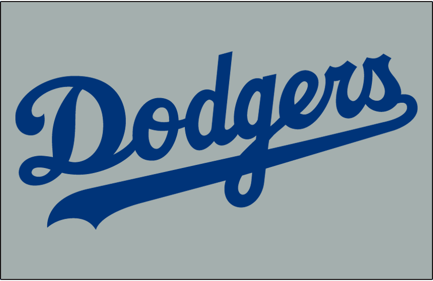 Los Angeles Dodgers 2014-Pres Jersey Logo iron on transfers for clothing